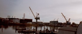 Portsmouth Naval Shipyard in Kittery (2001)