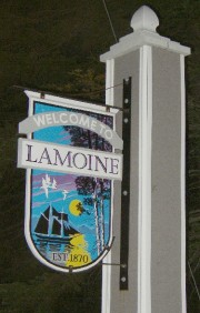 Sign: Welcome to Lamoine (2003)
