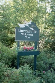 Sign: Lincolnville Welcomes You (2002)