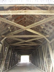 Watson Settlement Covered Bridge Interior (2003)
