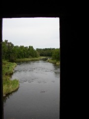 Meduxnekeag River from Bridge (2003)