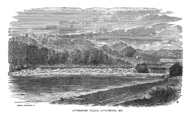 Livermore Falls from The Gazetteer of Maine