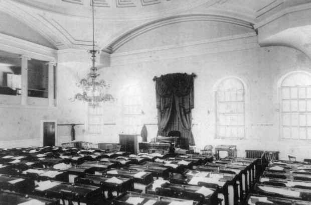House Chambers, c. 1908, Maine State Archives