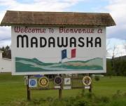 Sign: Welcome to Madawaska