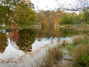 Dam and Mill Pond in East Madison (2003)