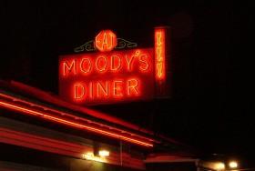Moody's Diner, Route 1 in Waldoboro (2003)