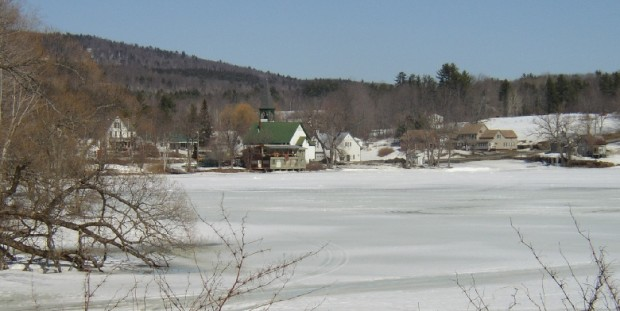 Village and Church at Echo Lake (2003)