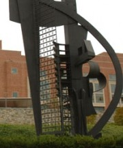 "Nevelson Sculpture ""Sky Horizon"" at the National Institutes of Health"