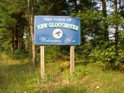 Sign: Welcome to New Gloucester (2003)