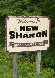 Sign: Welcome to New Sharon (2003)