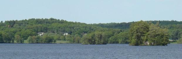 Damariscotta Lake's Muscongus Bay in Nobleboro (2008)