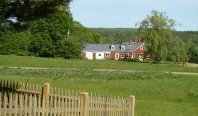 Chimney Farm from the Cemetery (2008)
