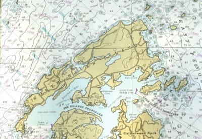 North Haven Island Chart (NOAA 13305)