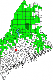Location Map for Norridgewock