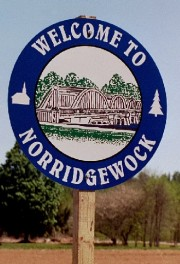 Norridgewock Welcome Sign (2002)