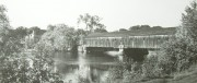 Covered Bridge in Old Town,No Longer in Existence (c. 1930's)