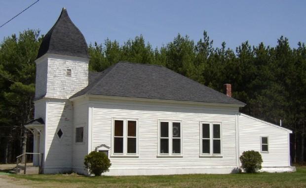 White Church in Otis on Route 180 (2004)