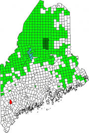 Location Map for Otisfield