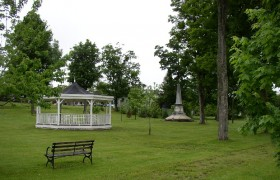 Park with Gazebo and Monument (2003)