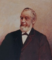 Sidney Perham, governor's portrait (courtesy Maine State Museum)