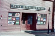 Maine Republican Party Headquarters in Hallowell 2002