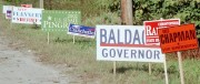 Various Roadside Candidate Signs, 2002