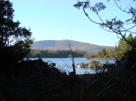Pierce Pond and Pierce Pond Mountain