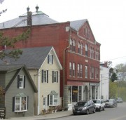 Downtown Rockport Near the Harbor (2005)