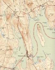 From 1943 USGS Map