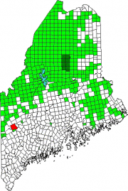 Location Map for Rumford