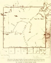 1792 Survey of the Upper Kennebec River (Maine State Archives)