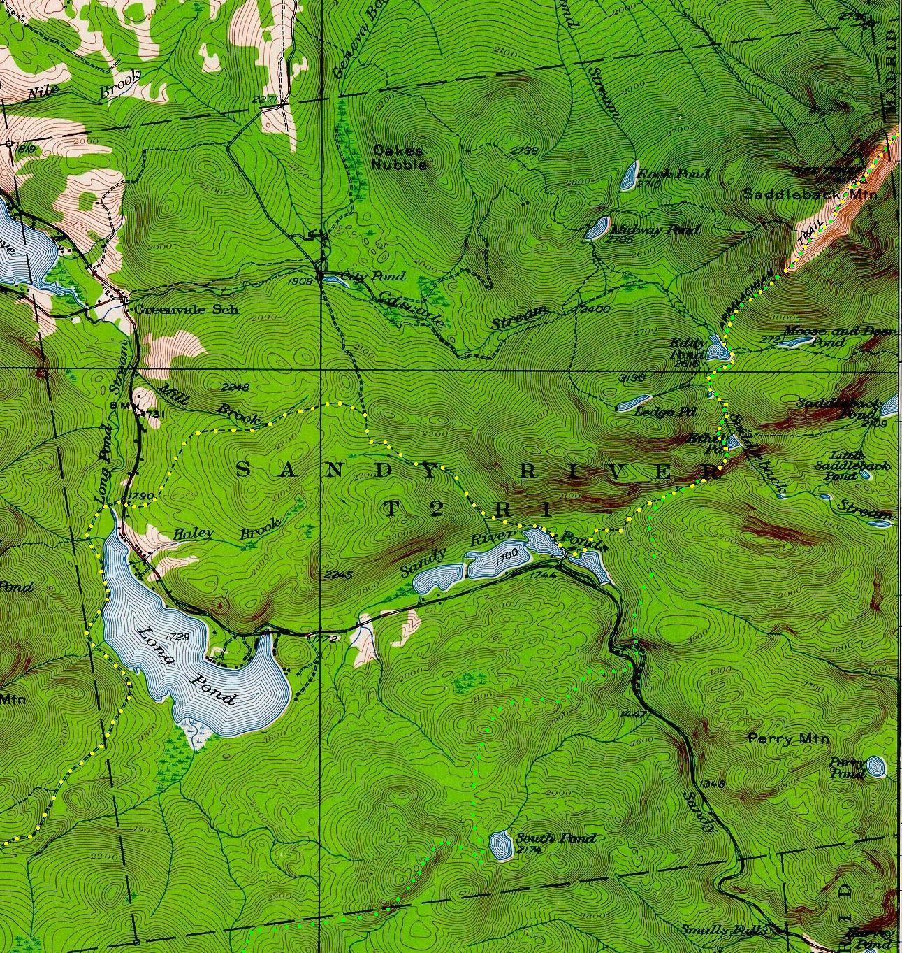 Sandy river plantation maine an encyclopedia for Public fishing access near me