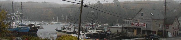 Boats and Osier's Wharf Store (2004)