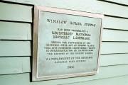 Plaque on Winslow Homer Studio (2002)