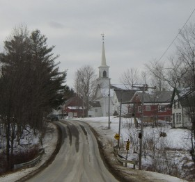 Approaching Searsmont Village (2004)