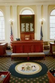 Senate President's Podium (2001)
