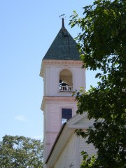 Bell tower of the Washburn Memorial Church (2003)