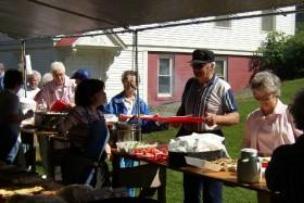 """A Home-Cooked Meal at """"Old Home Days"""" (2003)"""