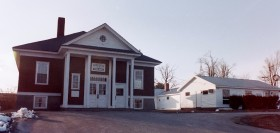 Old and New Sidney Town Offices on the Middle Road (2002)