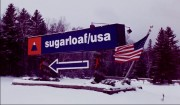 Sign at Sugarloaf