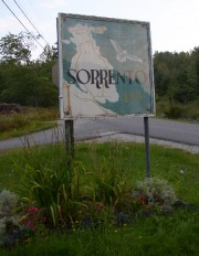 "Sign with Map and ""Sorrento"" (2004)"