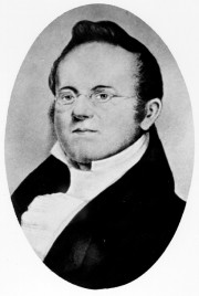 William D. Williamson, Maine Senate President 1820-1821 (courtesy Maine State Archives)