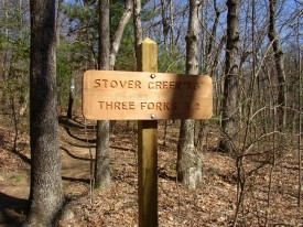 The First of Many Trail Signs