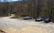 Parking Lot on Springer Mountain