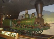 """The Lion"" Steam Engine (courtesy Maine State Museum)"