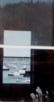 Through a Boatshed at Southwest Harbor (2001)