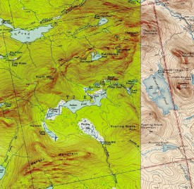 Historic Topographic Map of T9 R9