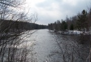 East Branch of the Penobscot Downstream from the Bridge