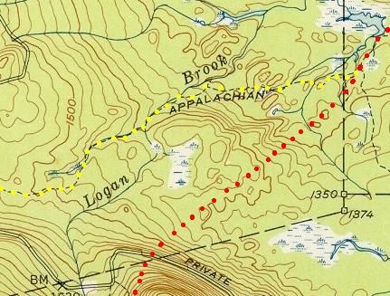 Detail of TA R12 Topographic Map