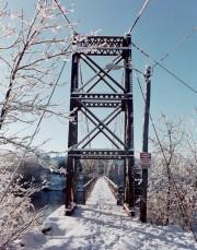 Pedestrian Bridge over the Androscoggin (2002)